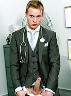 Introducing the incredibly sexy Neil Stevens as Doctor Stevens whose reputation seems to have preceded him. The gorgeous Ludovic Canot has heard through the grapevine that Doctor Stevens can work magic and make you feel like a new man! And so Ludovic visi