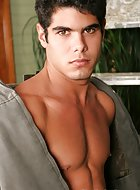 hot newcomer Guilherme! This hot boy is 21 and those hormones are racing. He just loves to fuck and get fucked! Guilherme told us that when he's not having sex with his girlfriend, his boyfriend is drilling his hot hole!