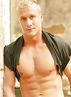Keith Johansson returns to BelAmiOnline this week as our exclusive Pin-Up. Check out this hot, hung blond ripped muscle stud. Gaze at his beauty and smoking hot body all week long. See this plus daily content updates at BelAmiOnline.com!